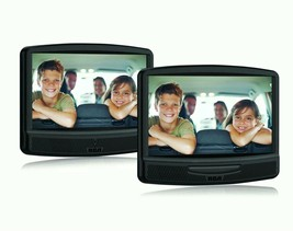 "RCA DRC79108 10"" Dual Screen Mobile DVD System Black - $67.50"