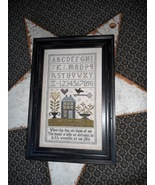 Think Of Me Sampler cross stitch chart by Chessie & Me   - $10.80