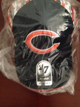 NEW NFL Carrier MVP Structured Adjustable Cap by '47 Brand - Chicago Bears  - $5.00