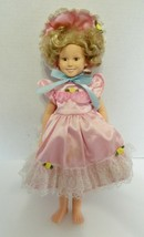 Shirley Temple Doll The Danberry Mint 1996 No Shoes No COA Stained Pink ... - $21.66