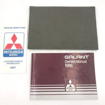 1986 Mitsubishi Galant Original Owners Manual Guide in Sleeve Glove Box Book BK1 - $9.95