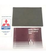1986 Mitsubishi Galant Original Owners Manual Guide in Sleeve Glove Box ... - $9.95