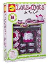 ALEX Toys Lots Of Dots Tin Tea Set - $38.50
