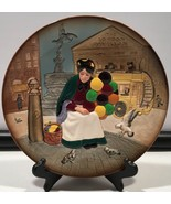 Royal Doulton The Old Balloon Seller Collectors Plate, D6649, England, 9... - $44.50