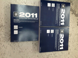 2011 Chevy COLORADO & GMC CANYON TRUCK Service Shop Repair Manual Set NEW - $395.98