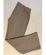 TAHARI Women Career Work Twill Stripe Bootcut Dress Slacks Trouser Pants... - $21.99