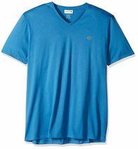 Lacoste Men's Premium Pima Cotton Sport Athletic Jersey V-Neck Shirt T-Shirt image 12