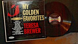 Teresa Brewer – My Golden Favorites AA20-RC2100 Vintage image 6