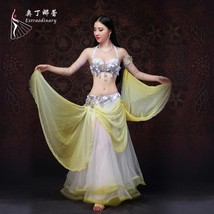 Customized Available LED Light Belly Dance Custome - $245.64