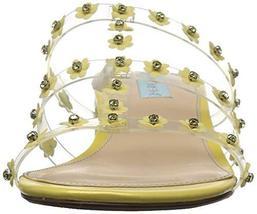 Blue by Betsey Johnson Women's SB-Arlyn Slide Sandal, Yellow, 7.5 M US image 2