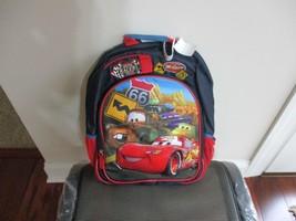BNWT Disney backpack Style 4W141866, Boys, Blue, Lightning McQueen - $23.76