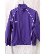 Boys Reebok NWOT Purple with White Trim Long Sleeve Windbreaker Jacket S... - $14.95