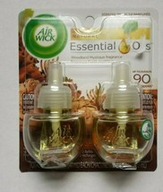 Air Wick WOODLAND MYSTIQUE With Essential Oils Scented Oil (1 Pack) - $6.92
