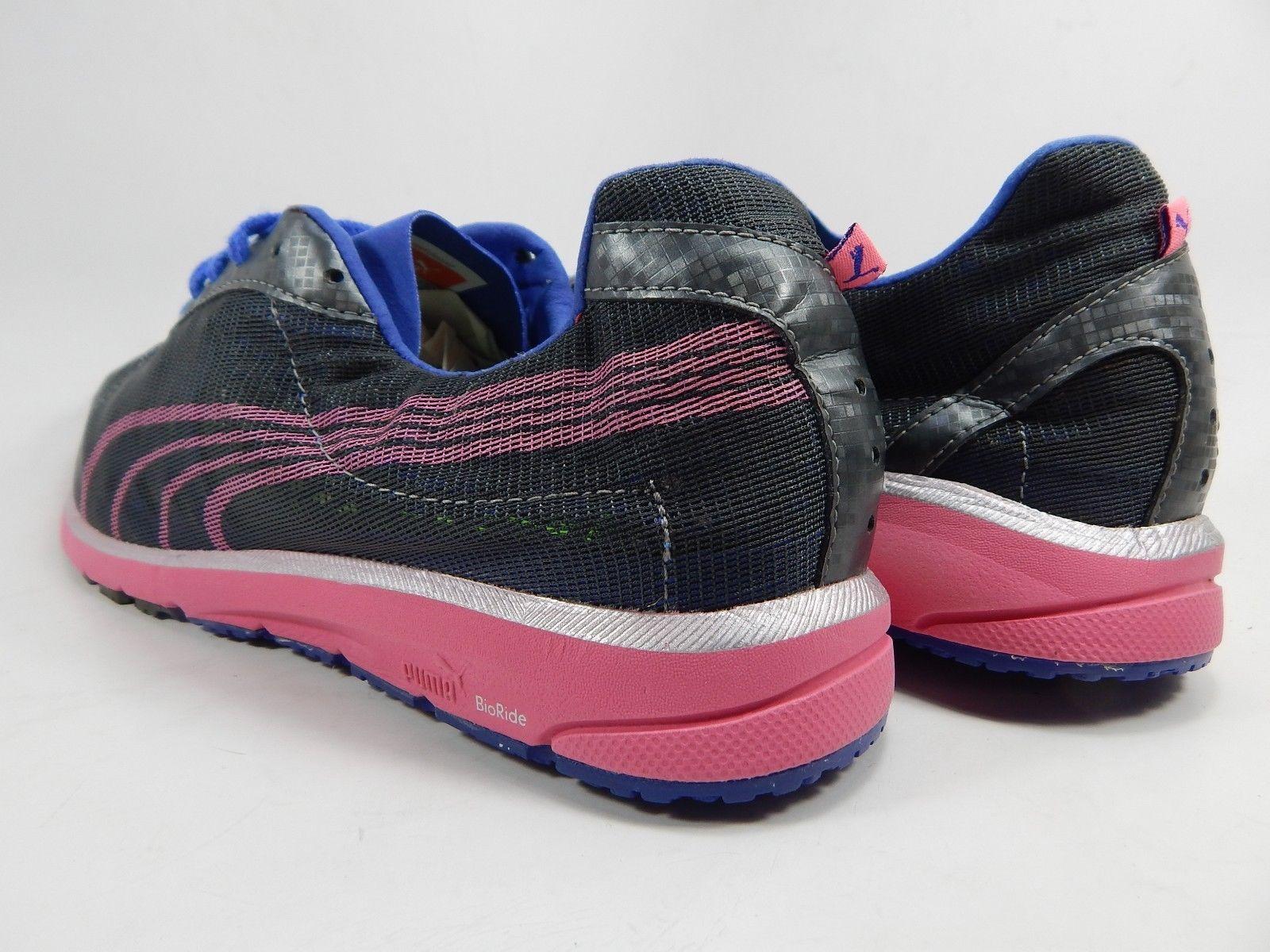 Puma Faas 250 Women's Running Shoes Size US 10.5 M (B) EU 42 Gray / Blue / Pink