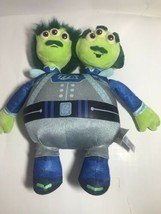 Disney Plush Toy Tomorrowland Watson And Crick Store Exclusive Two Headed  Alien - $8.79