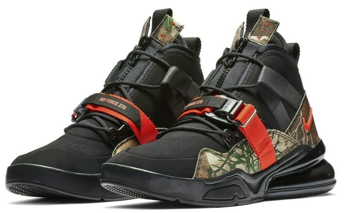 100% genuine low price limited guantity Nike Air Force 270 Utility Camo
