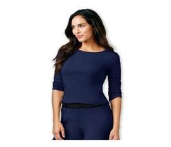 Calvin Klein Comfort Cotton 3/4 Sleeve Pajama Sleep Top QS5437 XS S M L XL - $12.00