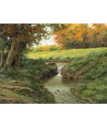 ART Autumn at Oakstone LE SN Giclee Canvas Art Print Brian Day NEW FREE ... - $115.00