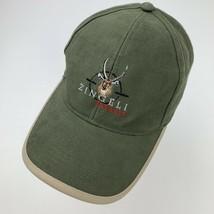 Zingeli Safaris Green Adjustable Adult Ball Cap Hat - $12.86