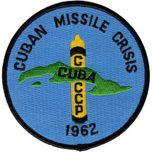 "1962 CUBAN MISSILE CRISIS EMBROIDERED 4"" PATCH - $17.09"