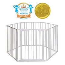 Mayfair Converta 3 in 1 Play-Pen 6 Panel Gate, White image 2