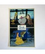Vintage Disney Beauty and the Beast Animation Art Cel Promotional Postcard - $7.99