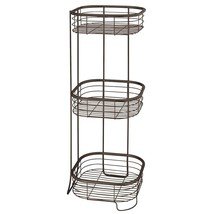 InterDesign Forma Free Standing Bathroom or Shower Storage Shelves for Towels, S - $52.16