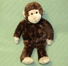 "14"" Gund MAMBO CHIMP Plush Monkey Stuffed Animal Brown Tan Floppy Bean 0... - $14.03"