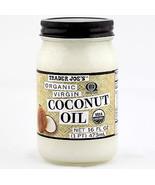 Trader Joe's Coconut Oil Extra Virgin Organic Unrefined 16 OZ Bought Fresh! - $11.95
