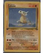 Cubone - Pokemon Colllectible Card Game - Fighting  - 1999 - 50/64 - Wiz... - $1.37