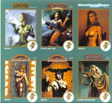 TSR 1993 Fantasy Collector Cards Promo Card Sheet NEW MINT - $3.95