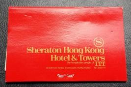 Vintage Sheraton Hong Kong Matches Book Brand New - $3.69