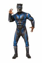 Rubies Schwarzer Panther Kampfanzug Muskel Brust Erwachsene Halloween Kostüm - $55.41