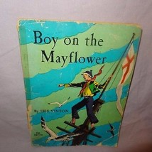 Boy on the Mayflower Book 1969 Scholastic Services Paperback Ex Library - $9.99