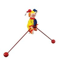 Schylling Classic Balancing Jester on Unicycle Toy NEW - $22.76