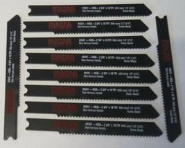 """Magna 44341 2-3/4"""" x 18 TPI Mild Steel U-Shank Jigsaw Blades 10pcs Swiss - $2.48"""
