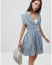New Free People Roll the Dice Mini Dress $108 YELLOW Small - $42.57