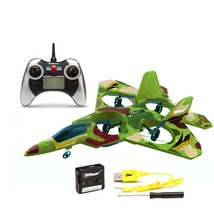 Top Race F22 Remote Control Fighter Jet Plane, 4 Channel Quad Copter wit... - $34.28