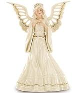 Lenox Angelic Visions Adoring Angel Figurine Tree Topper Pierced Christmas NEW - $180.00