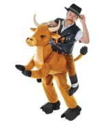 STEP IN BULL UNISEX COSTUME, ADULT COSTUMES, FANCY DRESS - £65.95 GBP