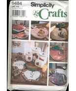 Simplicity Crafts Sewing Pattern - Fruit Theme Place Mats, Napkins, Coas... - $9.85