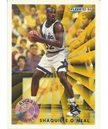 1993-94 Fleer #231 Shaquille O'Neal AW  - $0.50