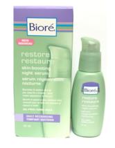 Bioré Restore Skin-Boosting Oil-Free Daily Recharging Night Serum 40ml - $16.99