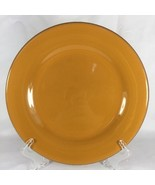 Bobby Flay Salad Plate BF Planche Orange Round Lunch - $6.16