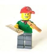 LEGO Minifigures 71007 Series 12 Pizza Delivery Guy Man #11 Deliverer Boy - $8.79