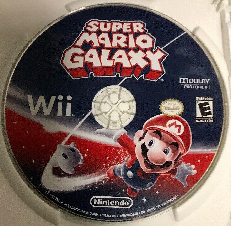 Super Mario Galaxy Nintendo Wii Game Nintendo Selects 2007 Galaxies Fire Boo Bee