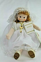 "Green Tree First Communion Girl ""Mary"" Musical Doll Plays Amazing Grace New - $18.80"