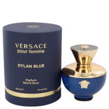 Versace Dylan Blue Pour Femme Perfume 3.4 Oz Eau De Parfum Spray image 1