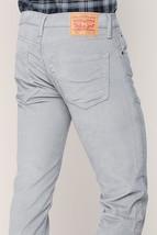 Levi's 511 Men's Premium Slim Fit Corduroy Jeans Pants Gray 511-2033