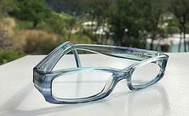 Nice Ray-Ban Jr Transparent Blue Eyeglasses Frames RB 1512 3531 / 46-14 125 - $23.53